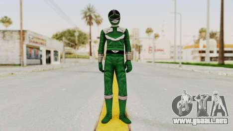 Power Rangers Time Force - Green para GTA San Andreas segunda pantalla