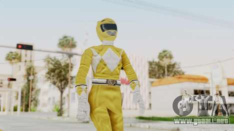 Mighty Morphin Power Rangers - Yellow para GTA San Andreas