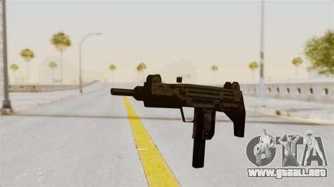 Liberty City Stories Uzi para GTA San Andreas segunda pantalla