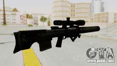 VKS Sniper Rifle para GTA San Andreas segunda pantalla