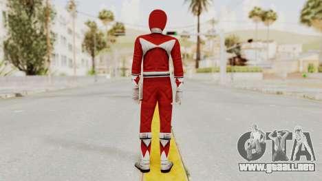 Mighty Morphin Power Rangers - Red para GTA San Andreas tercera pantalla