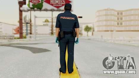 GTA 5 Paramedic LV para GTA San Andreas tercera pantalla