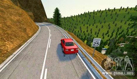 Kagarasan Pista para GTA 4 quinta pantalla