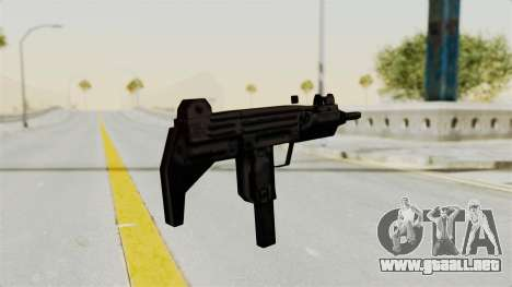 Liberty City Stories Uzi para GTA San Andreas tercera pantalla