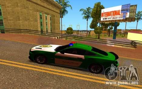 Ford Mustang Iranian Police para GTA San Andreas left