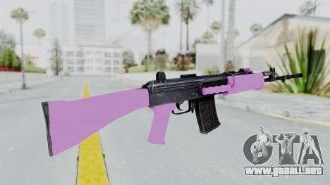 IOFB INSAS Light Pink para GTA San Andreas segunda pantalla