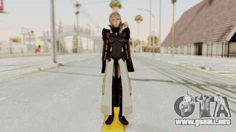 LRFFXIII Lightning Equilibrium Garb v2 para GTA San Andreas segunda pantalla