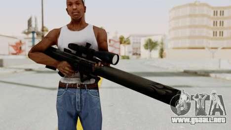 VKS Sniper Rifle para GTA San Andreas tercera pantalla