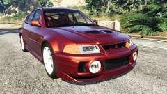Mitsubishi Lancer GSR Evolution VI 1999 para GTA 5