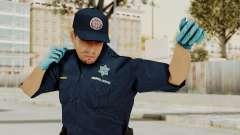 GTA 5 Paramedic LV para GTA San Andreas