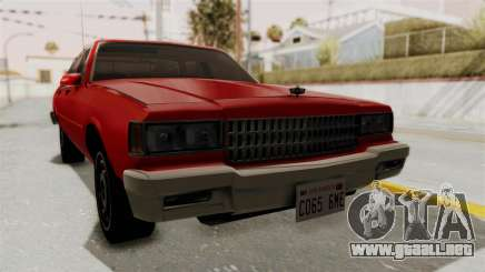 Chevrolet Caprice Classic 1986 v2.0 para GTA San Andreas