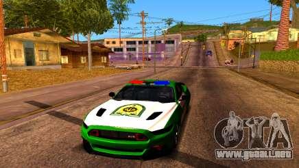 Ford Mustang Iranian Police para GTA San Andreas