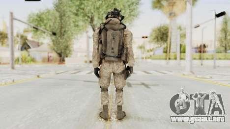 COD MW2 Shadow Company Soldier 2 para GTA San Andreas tercera pantalla