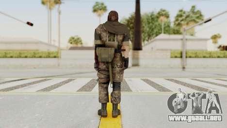 MGSV The Phantom Pain Venom Snake Sc No Patch v9 para GTA San Andreas tercera pantalla