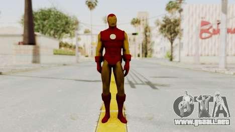 Marvel Heroes - Iron Man Classic para GTA San Andreas segunda pantalla