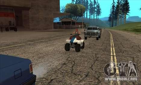 Actualizado el tráfico para GTA San Andreas segunda pantalla