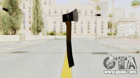 Liberty City Stories Handaxe para GTA San Andreas segunda pantalla