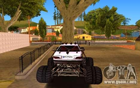 Peugeot Persia Full Sport Monster para GTA San Andreas vista posterior izquierda