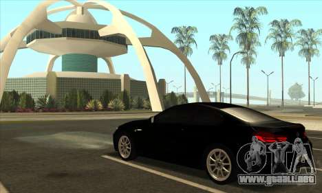 BMW M6 F13 Coupe para vista lateral GTA San Andreas