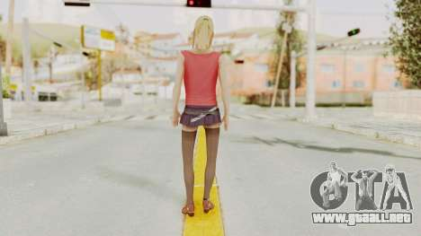 Millie Skin para GTA San Andreas tercera pantalla
