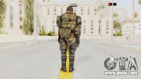 MGSV Phantom Pain Venom Snake Battle Dress para GTA San Andreas tercera pantalla