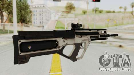 Integrated Munitions Rifle para GTA San Andreas segunda pantalla
