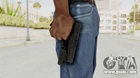 Glock 19 Gen4 Flashlight para GTA San Andreas