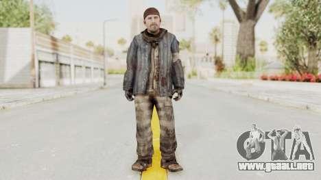COD BO Reznov Vorkuta para GTA San Andreas segunda pantalla