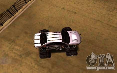 Peugeot Persia Full Sport Monster para la visión correcta GTA San Andreas