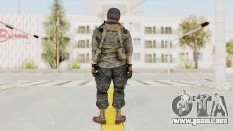COD BO USA Soldier Ubase para GTA San Andreas tercera pantalla