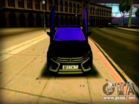 Lada Vesta Lambo para GTA San Andreas left