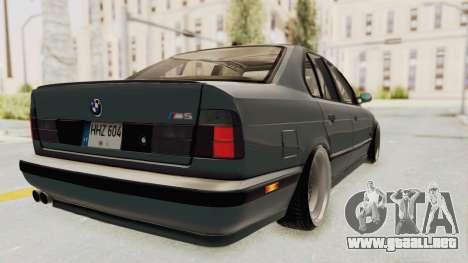 BMW M5 E34 USA para GTA San Andreas left