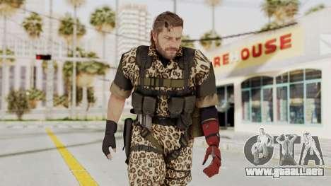 MGSV The Phantom Pain Venom Snake No Eyepatch v8 para GTA San Andreas