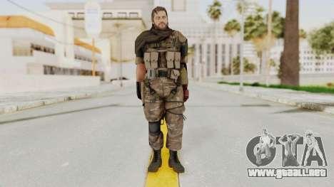 MGSV The Phantom Pain Venom Snake Sc No Patch v9 para GTA San Andreas segunda pantalla