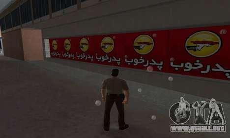 Pizza Shop Iranian V2 para GTA Vice City tercera pantalla