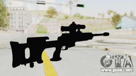 Longbow-DMR para GTA San Andreas tercera pantalla