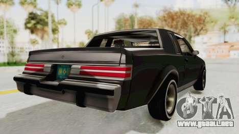 Buick Regal 1986 para GTA San Andreas left