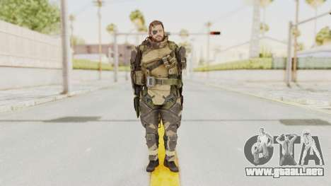 MGSV Phantom Pain Venom Snake Battle Dress para GTA San Andreas segunda pantalla