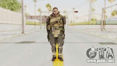 MGSV Phantom Pain Venom Snake Battle Dress para GTA San Andreas segunda pantalla