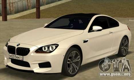 BMW M6 F13 Coupe para GTA San Andreas