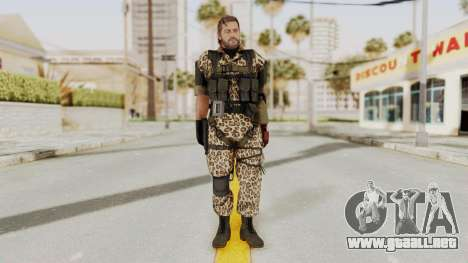 MGSV The Phantom Pain Venom Snake No Eyepatch v8 para GTA San Andreas segunda pantalla