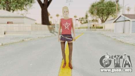 Millie Skin para GTA San Andreas segunda pantalla