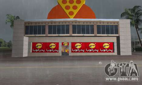 Pizza Shop Iranian V2 para GTA Vice City