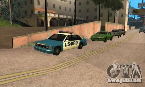 Actualizado el tráfico para GTA San Andreas sucesivamente de pantalla