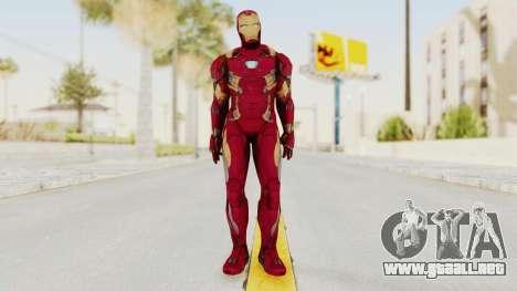 Iron Man Mark 46 para GTA San Andreas segunda pantalla