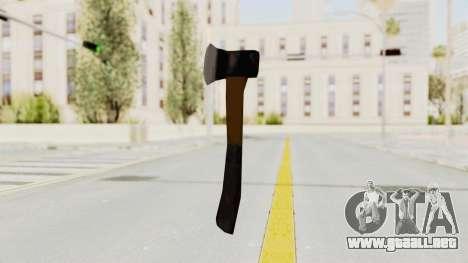 Liberty City Stories Handaxe para GTA San Andreas tercera pantalla