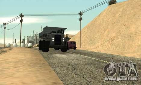 Actualizado el tráfico para GTA San Andreas tercera pantalla