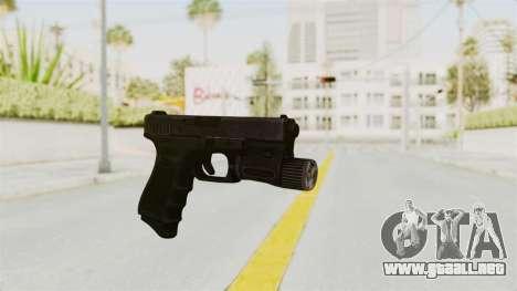 Glock 19 Gen4 Flashlight para GTA San Andreas segunda pantalla