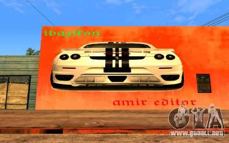 Ferrari Wall Graffiti para GTA San Andreas