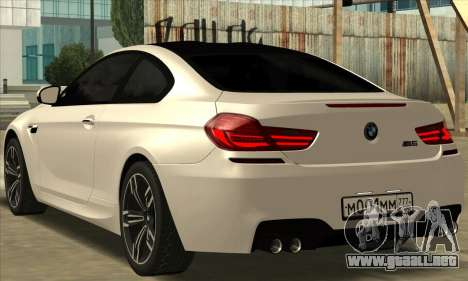 BMW M6 F13 Coupe para GTA San Andreas left